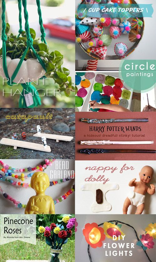 Make It Crafty: Easy Kids Craft Projects – August 2013