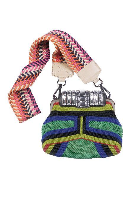 Need this beaded bag by Alberta Ferretti