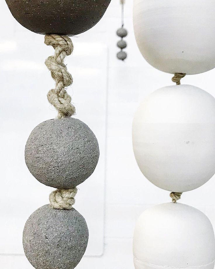 Detail....wall talismans in stoneware grogg and porcelain and yachting rope. . #sphere #orb #ceramicsculpture #groggedclay #walltalisman #jewelleryforthehome #tamaragomezstudio #spiritinspired #stoneware #turningearth#cockpitarts #pottery #ceramics #clay #spiritinspired #eastlondon #design #madeinlondon #craftanddesign #craft #design #pottersofinstagram #studioceramics #handmade #craftsposure#rawluxury