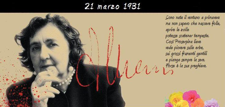 Alda Merini la regina dei Navigli era nata il ventuno a primavera del 1931 e oggi in occasione del suo 85esimo compleanno, se fosse in vita, Google l'ha ricordata dedicandole un Doodle (realizzato …