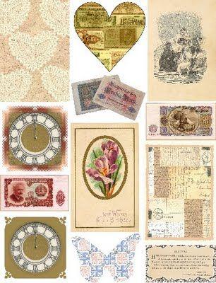 Free collage sheet from http://freecollagesheetsbyartandimagesbykim.blogspot.com/