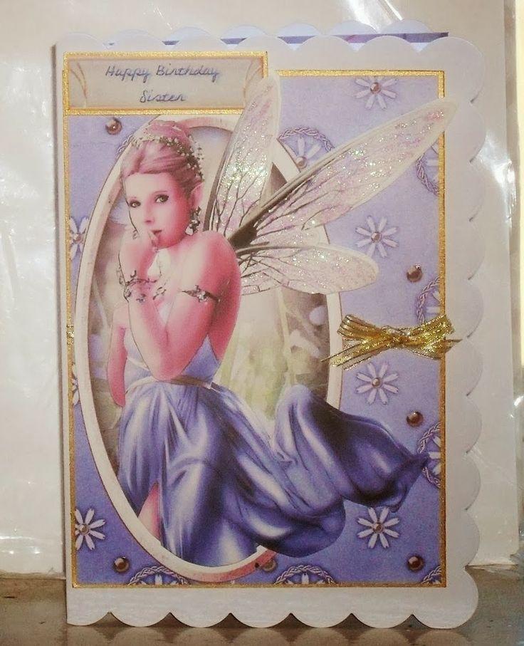 Fairypixeler Cards Debbie Moore Garden fairies