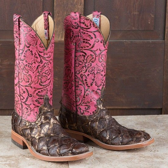 Rods' Anderson Bean Ladies' Copper Bass Boots