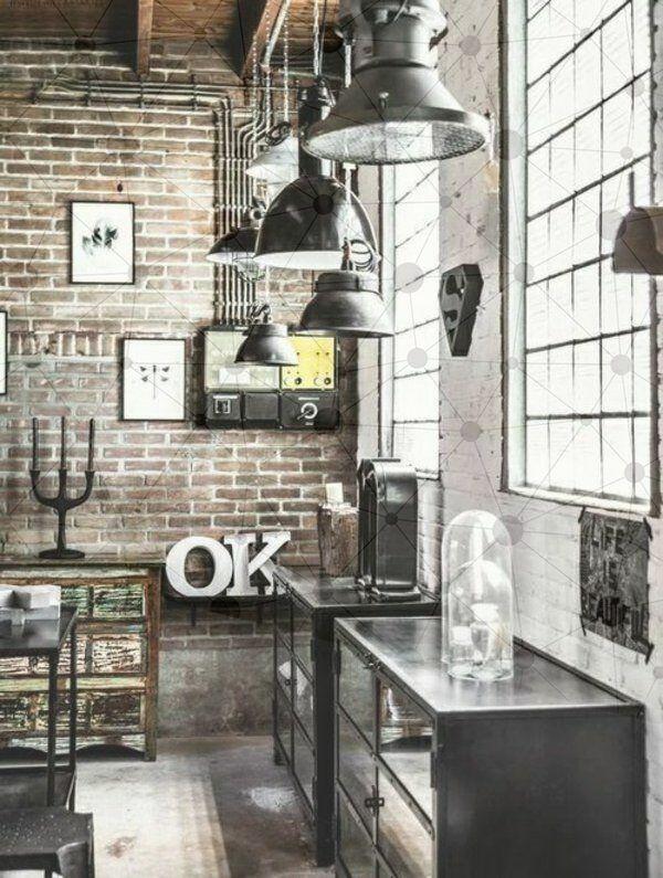 12 Exhilarating Industrial Loft Feminine Ideas Industrial Style Interior Industrial Design Furniture Industrial Decor