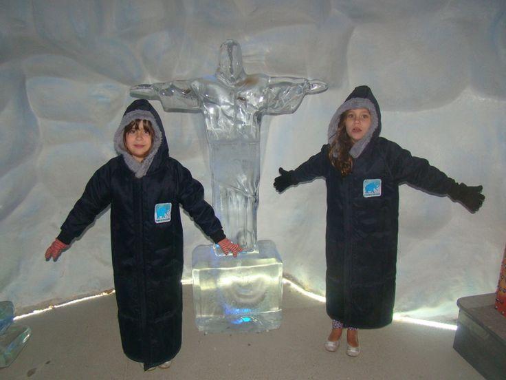 Gramado e Canela com crianças: Mundo Gelado