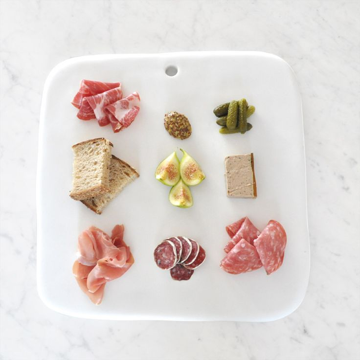 Charcuterie Board - Tina Frey Designs - Hand sculpted and handmade with care - Food safe Resin