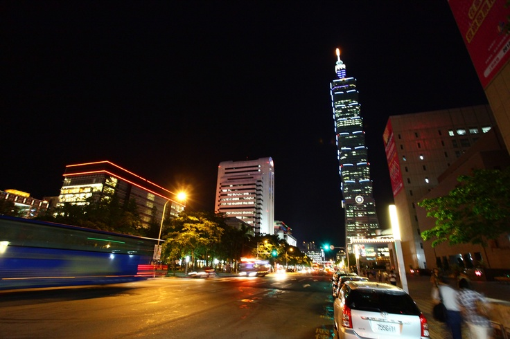 Taipei 101, formerly known as the Taipei World Financial Center, is a landmark skyscraper located in Xinyi District, Taipei, Taiwan.  Taipei 101, comprising 101 floors above ground and 5 floors underground, is a multi-level shopping mall adjoining the tower houses hundreds of fashionable stores, restaurants and clubs. (wiki)  @ Xinyi District, Taipei City 110, Taiwan (R.O.C.)  To travel Taiwan (Asia), please visit the website: timefortaiwan.tw/EN