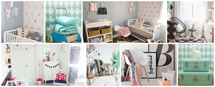 chambre bébé scandinave