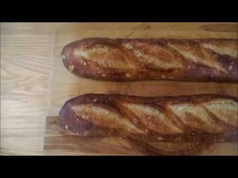 Easy Sourdough Baguettes for Beginners - YouTube