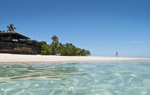 Island paradise...Vomo Island Resort, Fiji  www.islandescapes.com.au