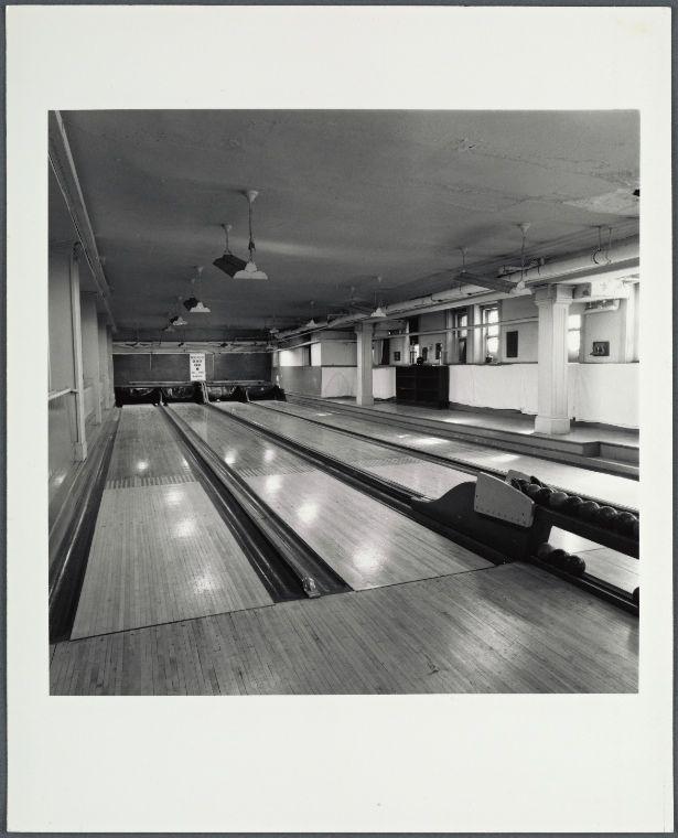 Montauk Club bowling alleys. Lincoln Pl. & 8th Ave., Brooklyn. February 26, 1978.
