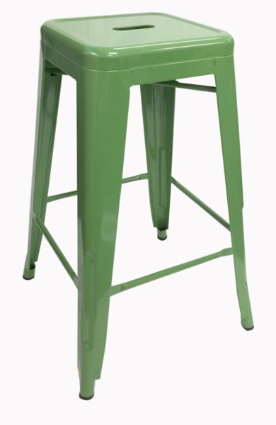 Buy Replica Tolix Stool 66cm Green Online at Factory Direct Prices w/FAST, Insured, Australia-Wide Shipping. Visit our Website or Phone 08-9477-3441