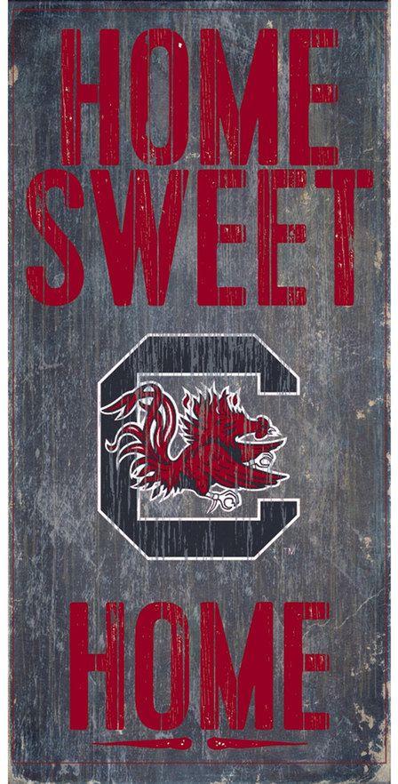NCAA South Carolina Gamecocks Sweet Home Wall Art