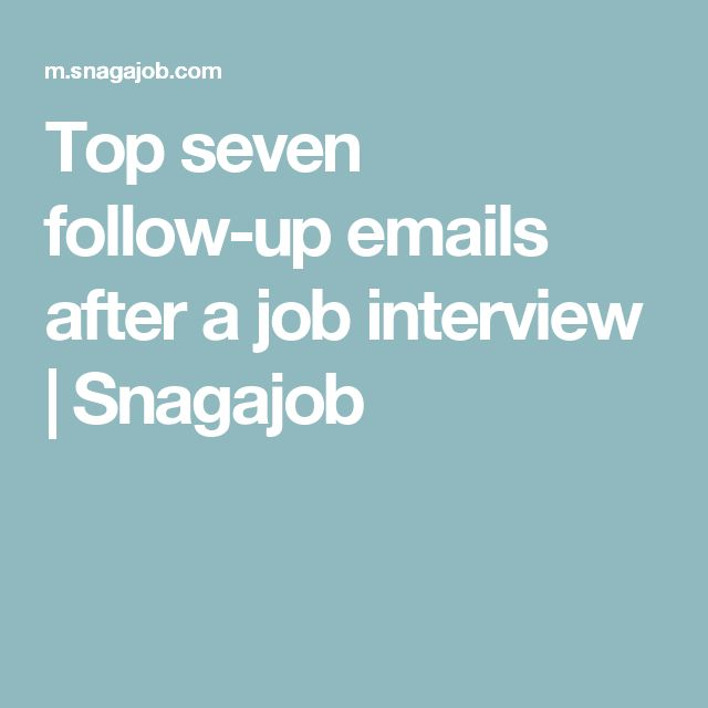Best 25+ Interview follow up email ideas on Pinterest Interview - follow up email after interview template