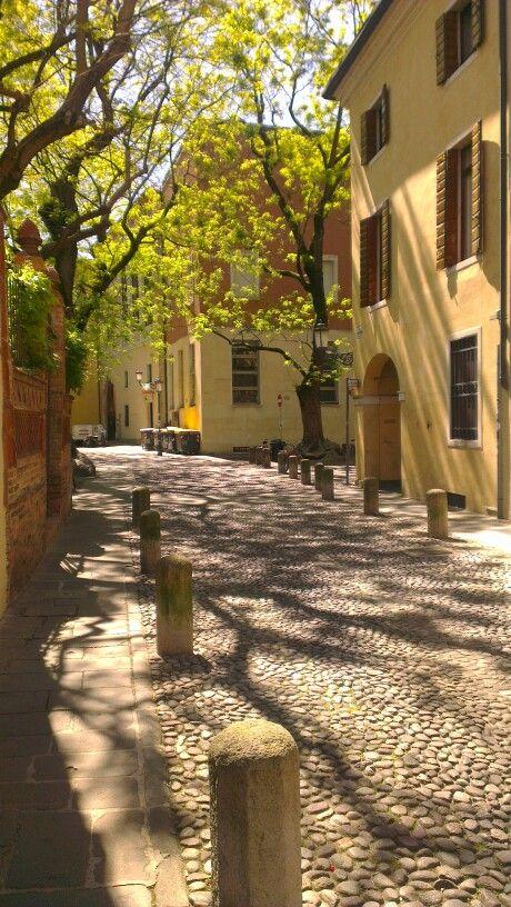 Street in Padova centre