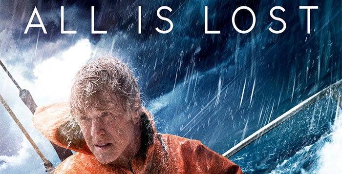 All is Lost - Robert Redford, på en båt. Recension.