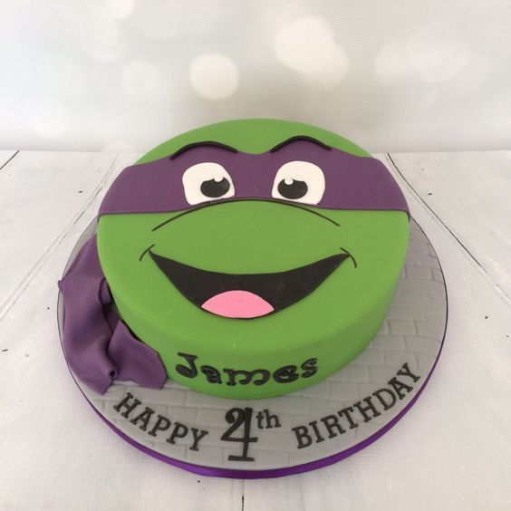 Bildresultat för ninja turtle cake