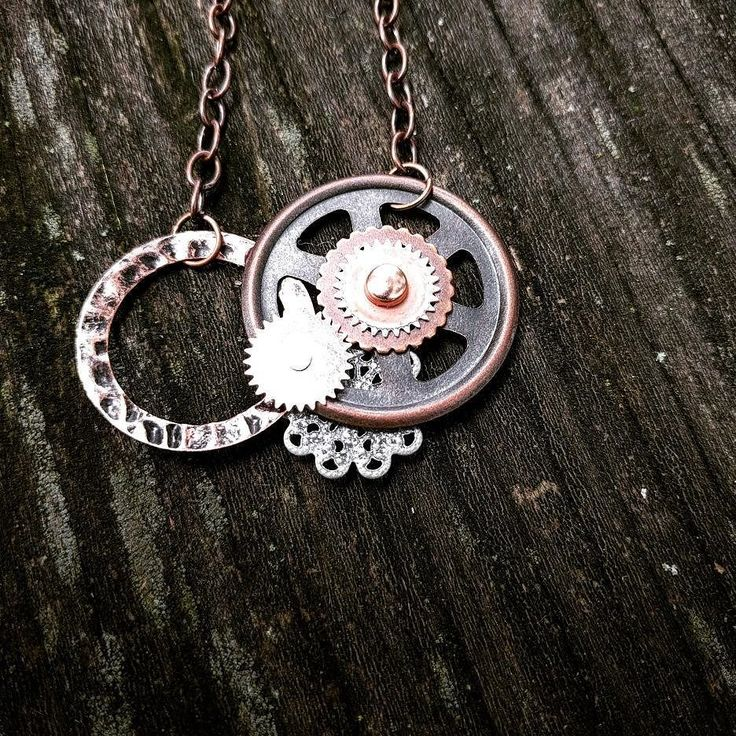 Happy Tuesday! We recycle and re-purpose found items from all over the world into unique, one-of-a-kind wearables. It's a Steampunk + adventure lifestyle! Papercranest.com