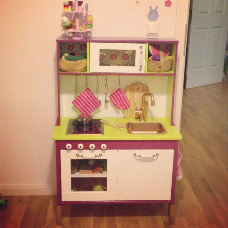 ikea hacks play kitchen house furniture. Black Bedroom Furniture Sets. Home Design Ideas