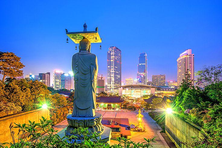 7. Seoul, Sydkorea