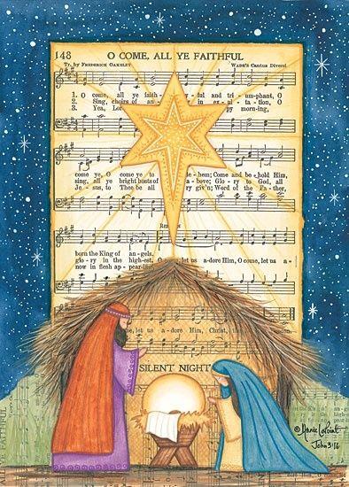 oh come all ye faithful sheet music Christmas printable