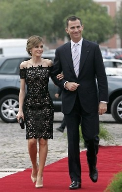 Spanish Royal Family -Prince Felipe and Princess Letizia