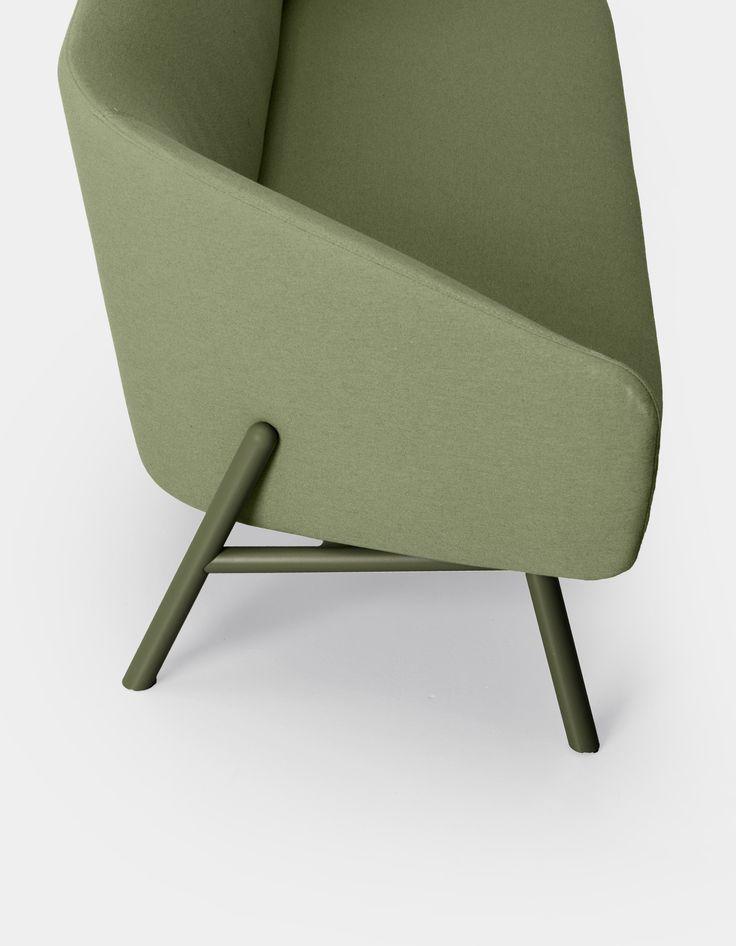 Tuile | sofa By kristalia, sunbrella® garden sofa design Patrick Norguet, tuile Collection
