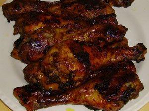 1) sauce italienne piquante de kraft  OU 2) a doser selon vos gout: cassonade/paprika fumer/sel/poivre/poudre d'ail (voir dans commentaire) OU 3) sauce BBQ Bullseyes