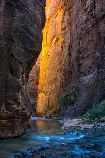 The Narrows, Zion National Park, Utah.