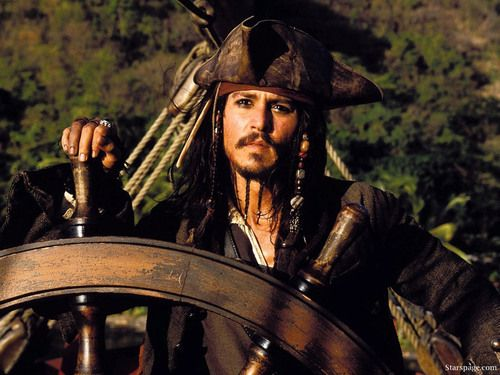 *CAPTAIN JACK SPARROW (Johnny Depp) ~ PIRATES of the CARIBBEAN: