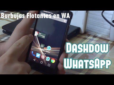 Dashdow WhatsApp: Notificaciones de Burbujas Flotantes en WhatsApp [APK] - YouTube