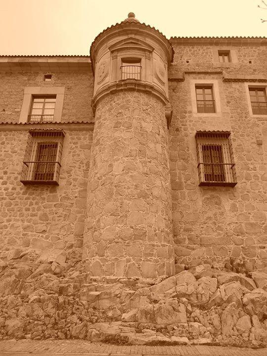 Palacio de los Dávila sobre la muralla