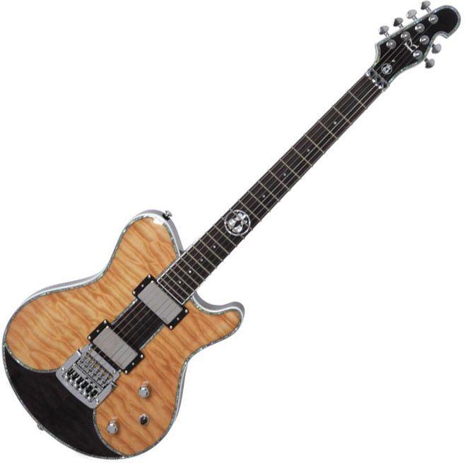 Kraken Flagman Supreme Custom NB Unique Design Quilted Maple Electric Guitar EMG #Kraken
