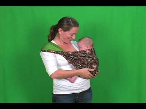▶ Baby Slings -Mod Mum - How to use a baby sling from 6 months up to Toddler - Mod Mum Baby Slings - YouTube