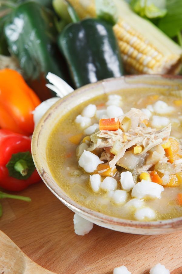 Slow Cooker Recipe: Chicken Posole. I hope it comes out as good as the one my mom makes