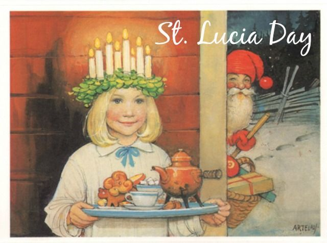 St. Lucia Day in Norway and Sweden