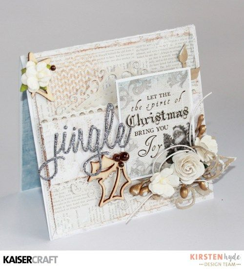 KAISERCRAFT - FROSTED - CHRISTMAS CARDS - KIRSTEN HYDE - MYHYDEAWAY - 13