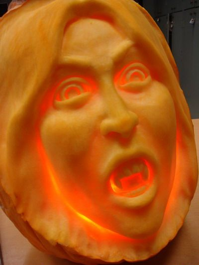 How to carve, skin, gut, and polish a Halloween pumpkin