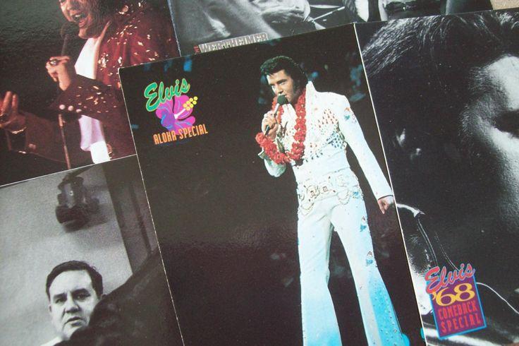 Elvis Collector Trading Cards, Six Trading Cards, 1990s, Elvis Presley, Random Selection of Cards, Vintage Cards, Elvis Memorabilia, #6 by LeeEmporium on Etsy