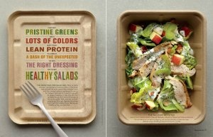 Johnny Miller time for lunch with this clever #packaging PD