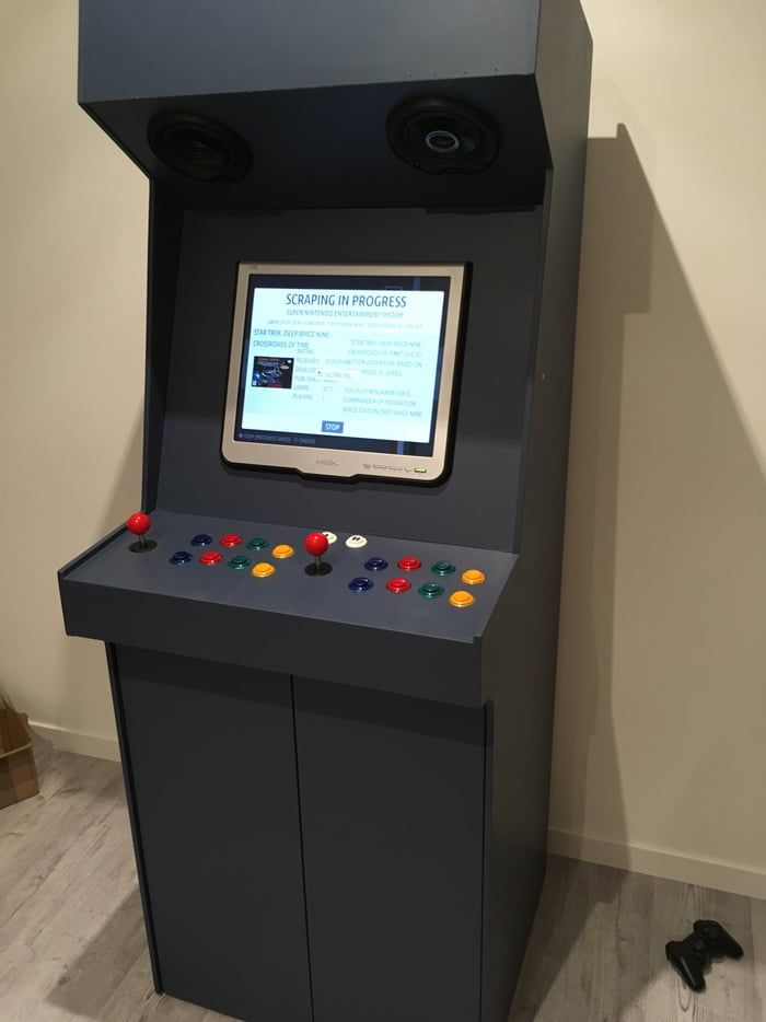 My First Homemade Arcade Machine Arcade Cabinet Plans Arcade Machine Arcade Cabinet Kit