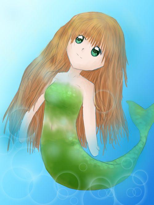 Mermaid by Morgan Mayhew
