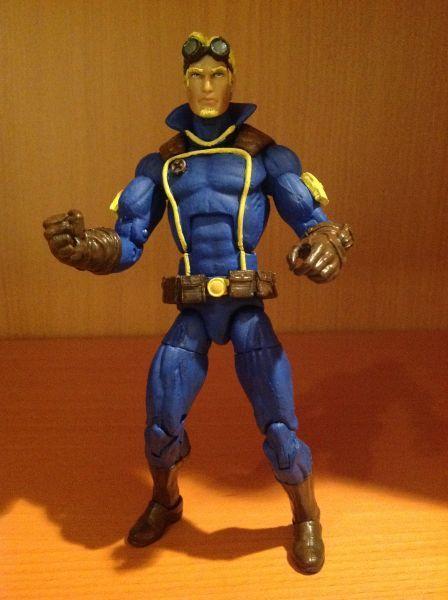 Cannonball (Marvel Legends) Custom Action Figure