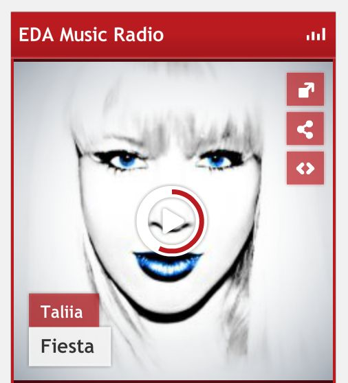 #NowPlaying Fiesta by @Taliia #EDA #Music #Radio #Taliia