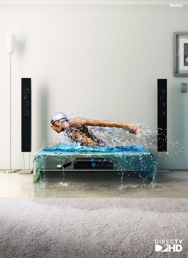 Directv HD: Swimmer