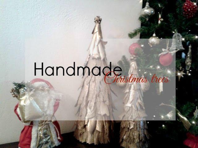Το e - περιοδικό μας: Χριστουγεννιάτικα δεντράκια από φλούδες ευκάλυπτου...