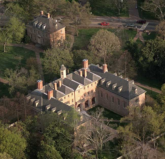 Oldest academic structure in America. The College of William and Mary's Christopher Wren Building