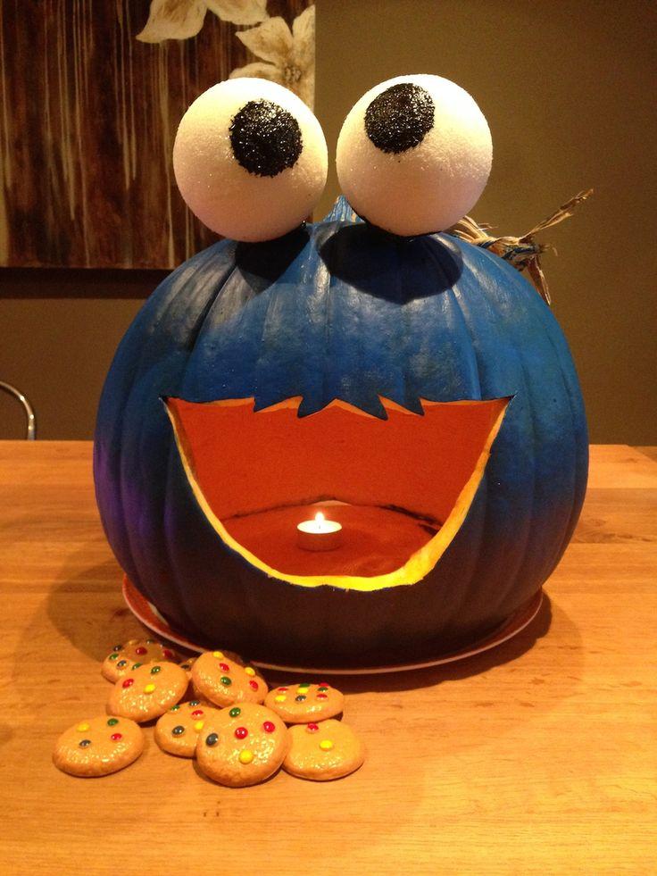 Monster Halloween Cookies: The 25+ Best Cookie Monster Pumpkin Ideas On Pinterest