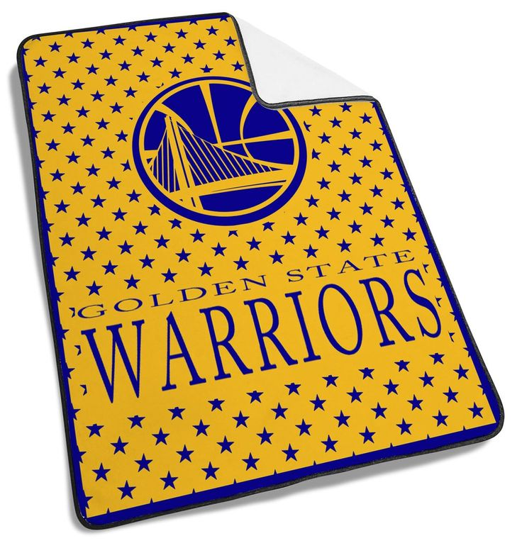 Golden Warriors Logo Blue Blanket #Golden #Warrior #Logo  #Blanket #goldenwarrior #Basketball #team #sport #sports