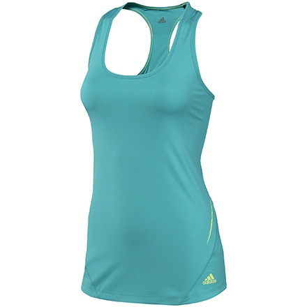 #Camiseta deporte mujer.  Sequentials Fitted Tank Mujer, Ultra Green by #adidas.